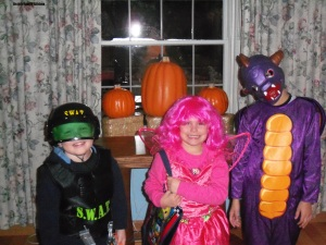 Halloween with Grandchildren