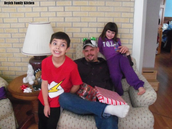 John Josh and Kaylee Christmas 2012