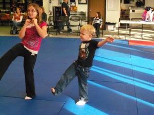 Karate Birthday Party