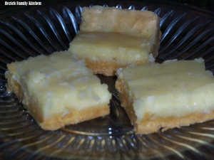 Gooey Butter Cake, Chess Squares