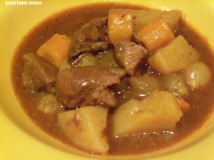 Slow Cooker Old Fashion Beef Stew