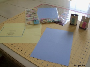 Create Your Own Easter Card Instructions